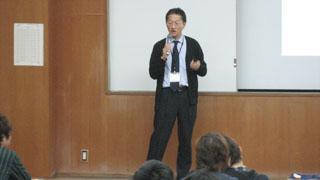 豊橋創造大学教務課・遠山直人氏による講演
