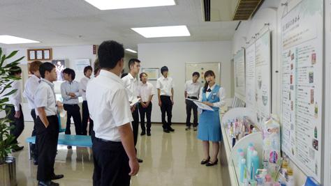 就業体験講座(2013/09/12)花王(株)豊橋工場