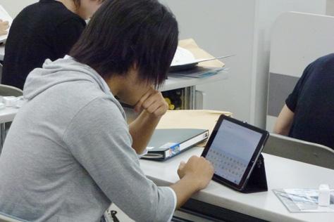 iPadの活用