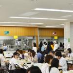 オープンキャンパス・カフェテリアの様子(2014/06/14)