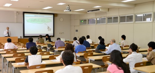 オープンキャンパス学科紹介(2014/07/26)