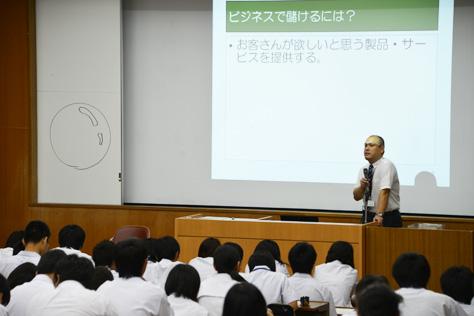 ラーニングフェスタ・和田准教授による講義(2014/08/25)