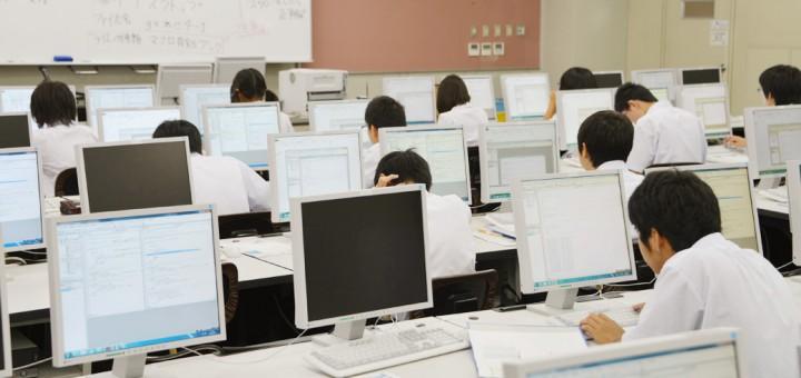 パソコン一日体験セミナー(対象:豊橋西高等学校生徒)(2014/08/27)