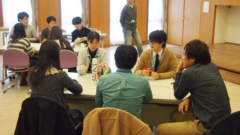 中盤:他大学の学生とも仲良く気軽に話せるようになってきました