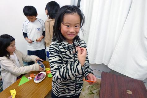 中田プロジェクト・児童育成クラブ訪問(2014/12/04)