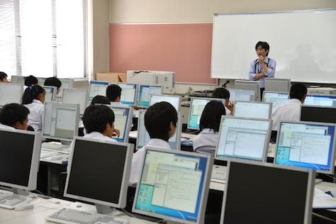 パソコン一日体験セミナー・プログラミング(2015/08/27)
