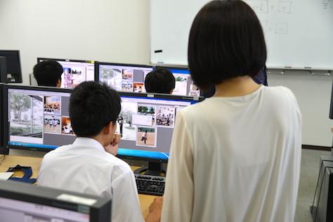 パソコン一日体験セミナー・ポスター制作(2015/08/27)