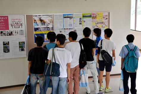7月23日(土)24日(日)オープンキャンパスの様子