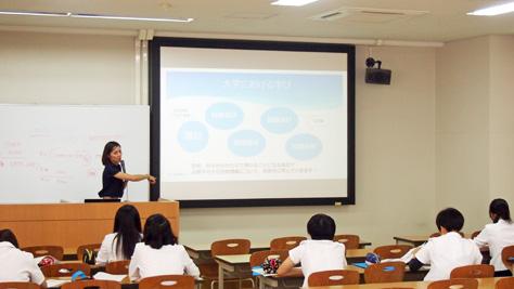 夏の高大連携事業(体験講座)実施報告