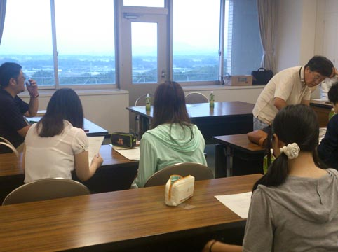 「のんほい鉄道」整備検討委員会に経営学部の学生が参加しました