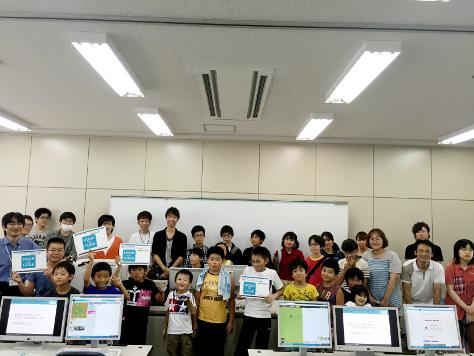 Hour of Code夏休み 全国100校1万人プログラミングin 豊橋 を開催しました(今井プロジェクト)