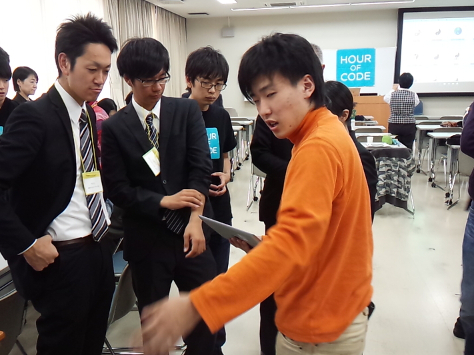 Hour of Code全国キャラバン(豊橋創造大学会場) を開催しました(今井プロジェクト)