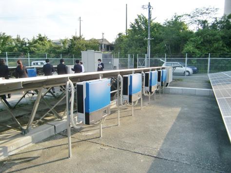 豊橋エコタウン・プロジェクト サイエンス・クリエイト社が運営する石巻太陽光発電所を見学!(見目プロジェクト)