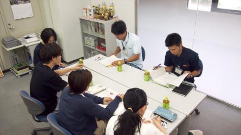 パーク職員さんと活動打ち合わせ@D32共同ゼミ室(2016/06/07)