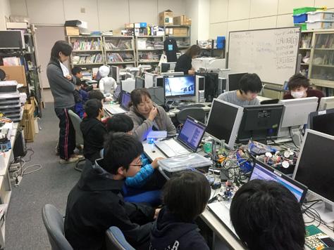 Hour of Code Japan 2017 in 豊橋を開催しました(今井ゼミプロジェクト)