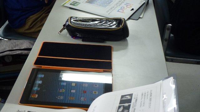 iPad配布・説明会(経営1年)