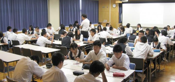 高大連携授業・三ケ日高校(2014/09/05)